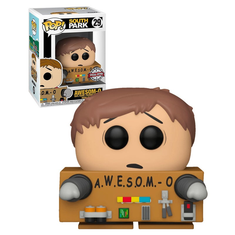 Funko POP! Animation South Park #29 Awesome-O (Unmasked) - New, Mint Condition