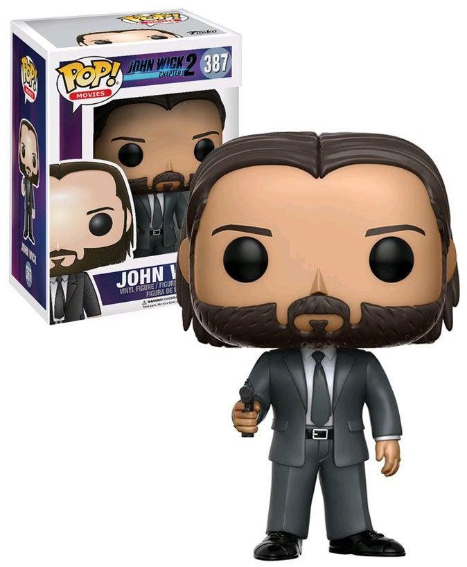 Funko POP! John Wick - John Wick #387 New Mint Keanu Reeves