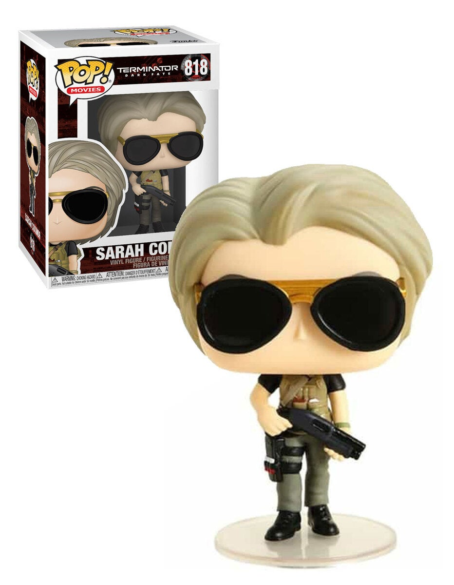 Funko POP! Terminator Dark Fate #818 Sarah Connor - New, Mint Condition