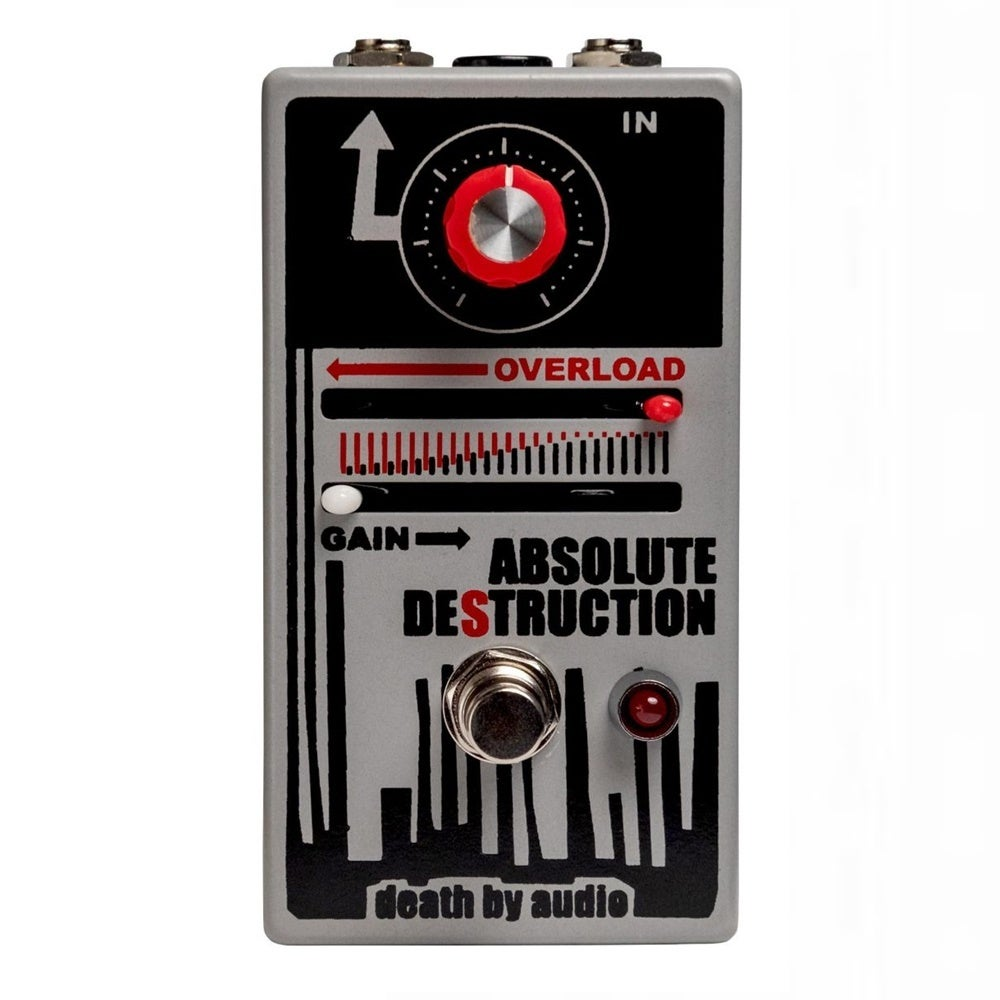 Death By Audio Absolute Destruction Guitar Effects Pedal