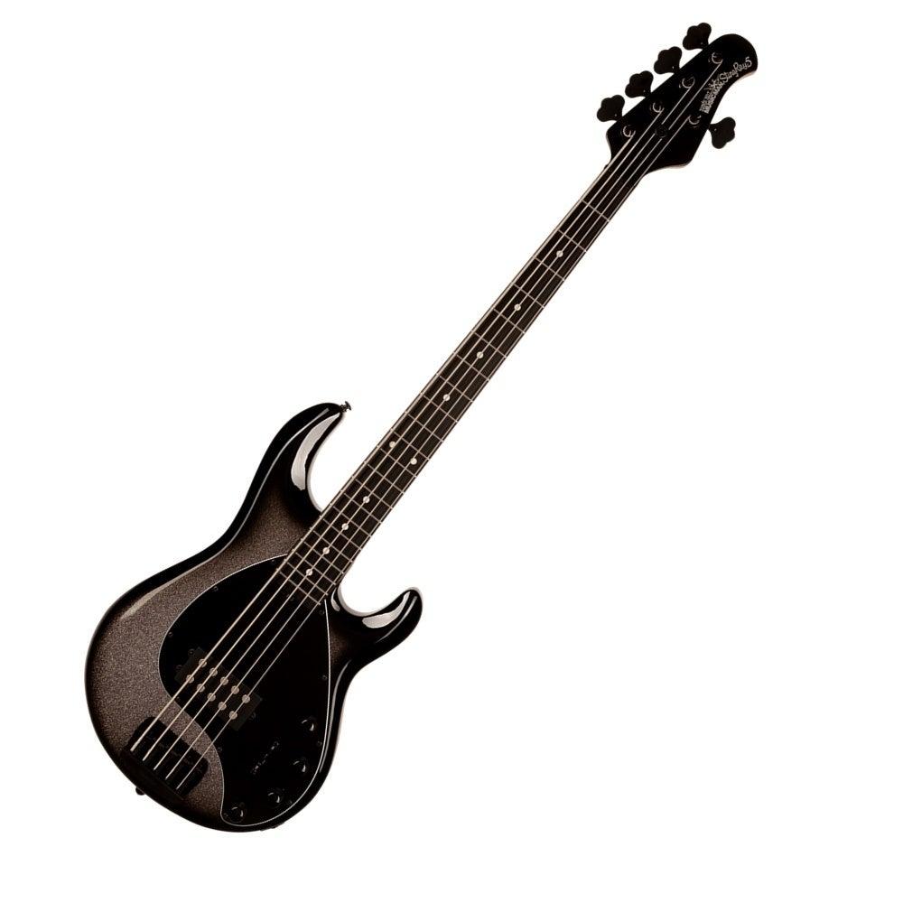 Ernie Ball Music Man StingRay Special 5 Bass Guitar - Smoked Chrome