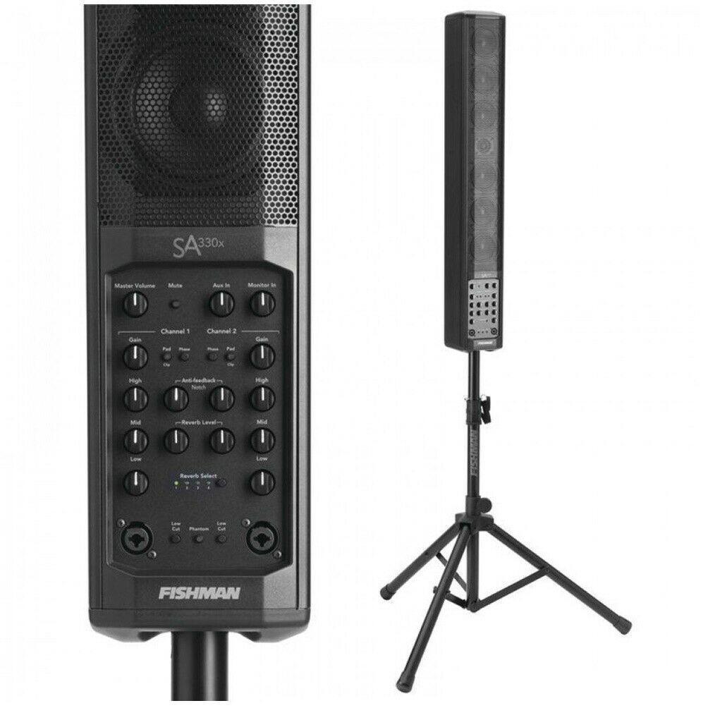 Fishman SA330x Performance Audio System 330W Portable PA System 3-band EQ