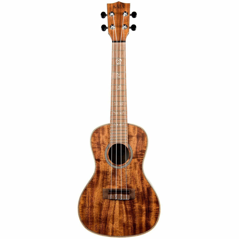 KALA KA-SA-C Solid Acacia top back and sides Concert Ukulele Walnut Fretboard