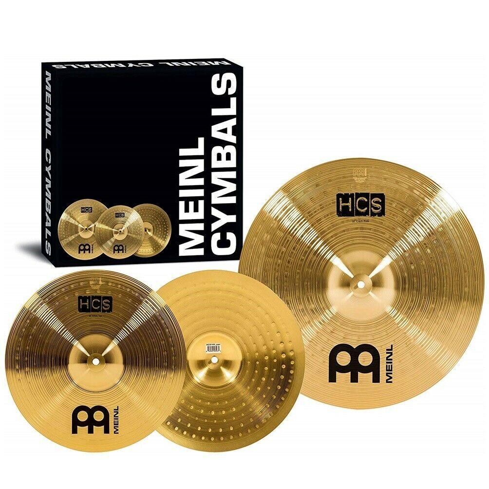 "Meinl Cymbals HCS1416 HCS Cymbal Box Set Pack with 14"" Hi Hat Pair and 16"" Crash"
