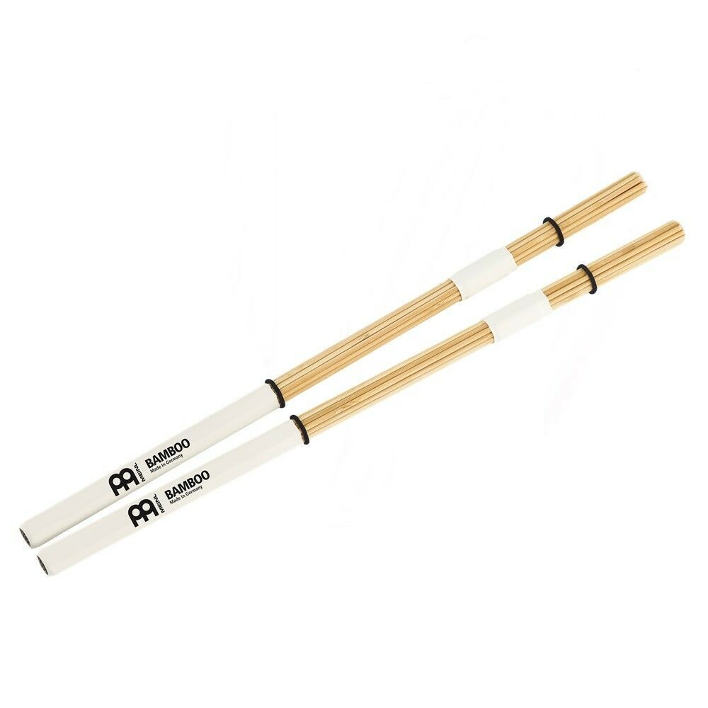 Meinl Percussion BMS2 Bamboo Multi-Stick for Cajon with Center Wrap PAIR