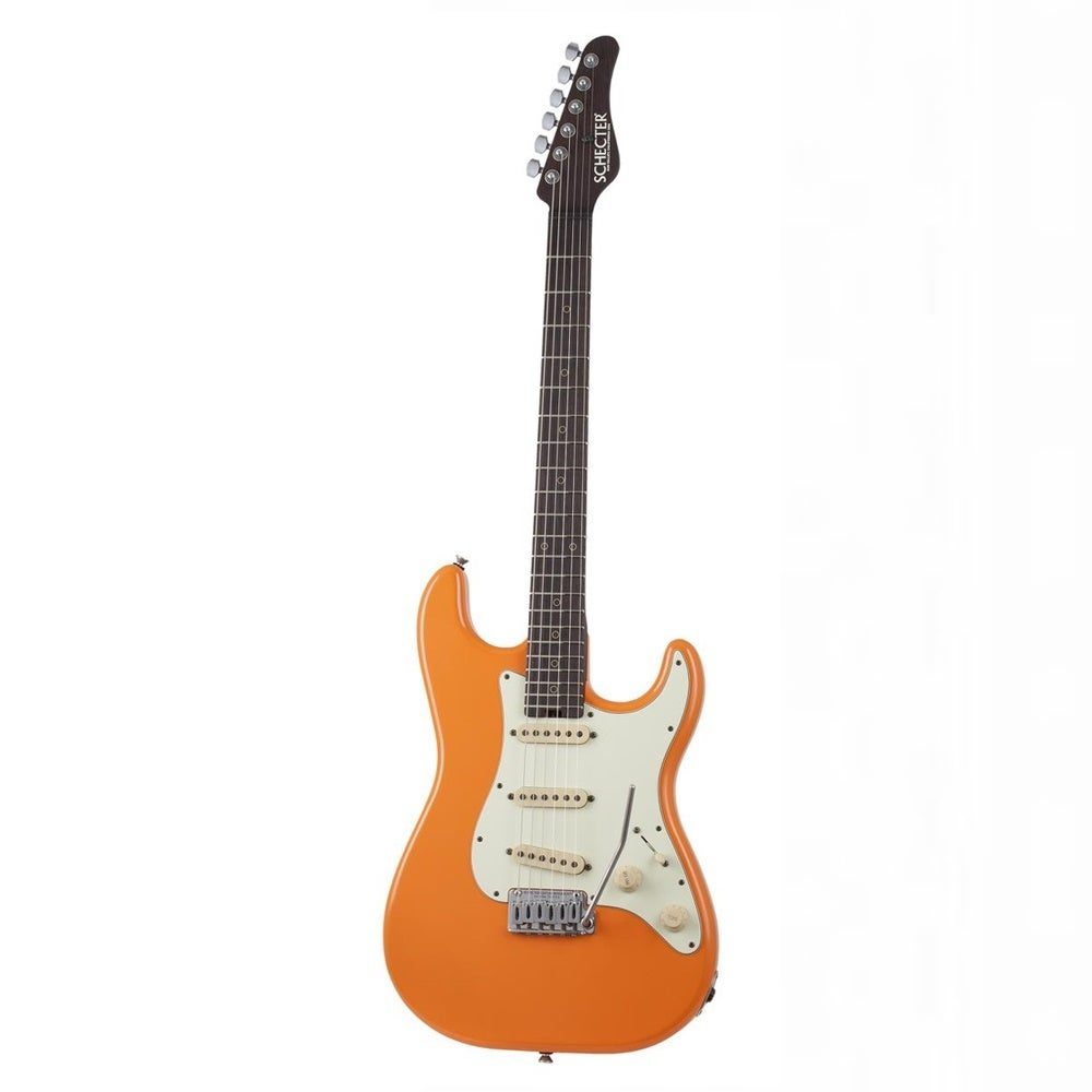 "Schecter Nick Johnston USA Signature Electric Guitar Wembley ""Atomic Orange"