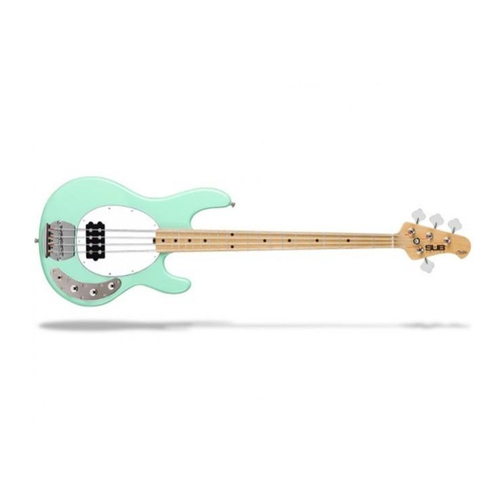 Sterling by Music Man Ray4 Bass Guitar - Mint Green/Maple - RAY4-MG-M1