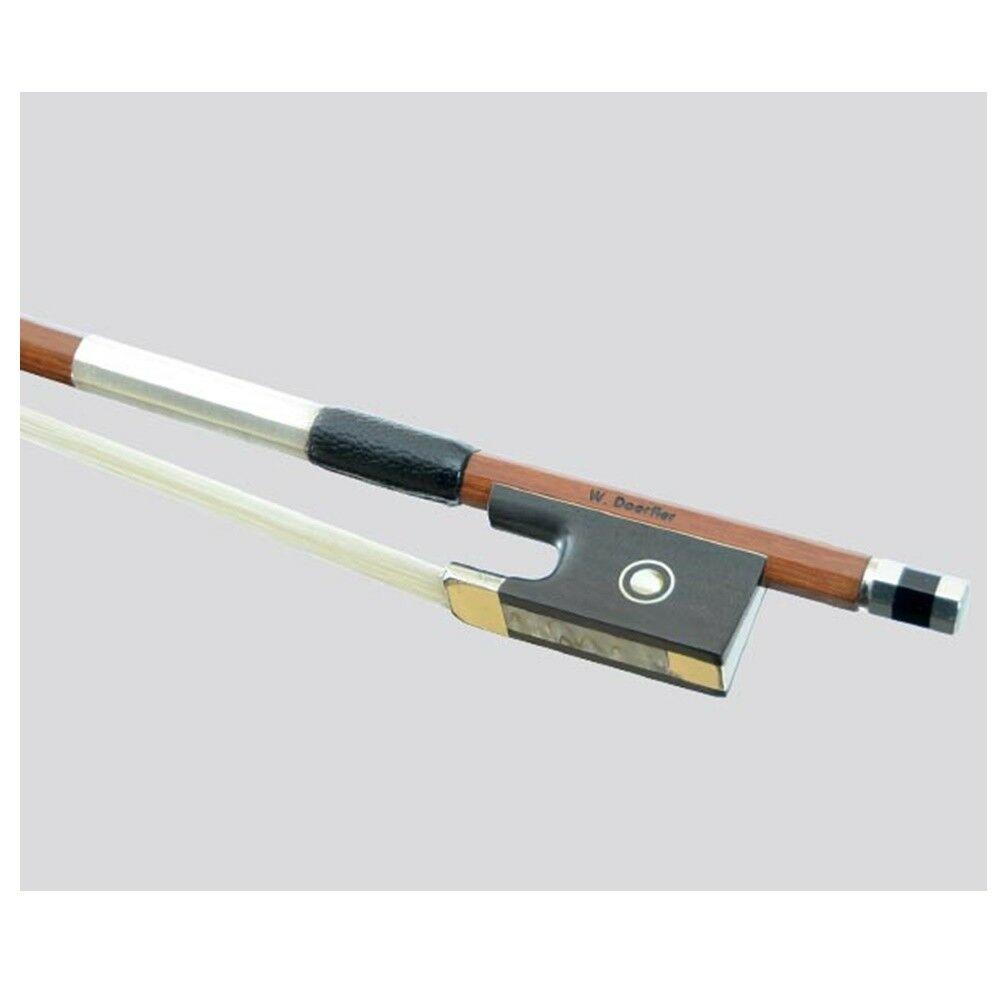 Violin 4/4 Bow W. DÖRFLER Selected Pernambuco Octagonal Stick 61.1g German Bow
