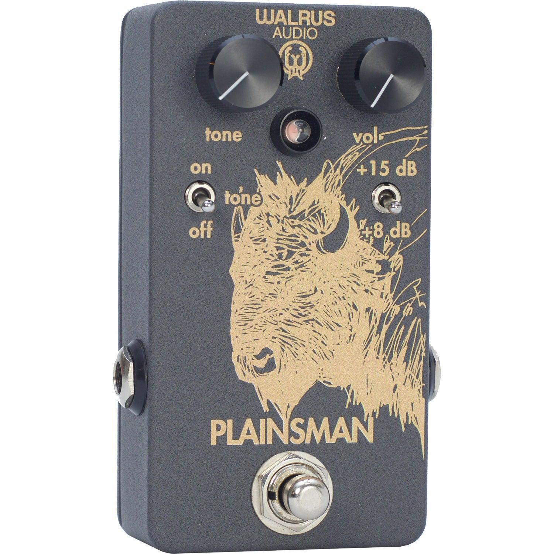 WALRUS AUDIO Plainsman Clean Boost Pedal for Electric Guitars