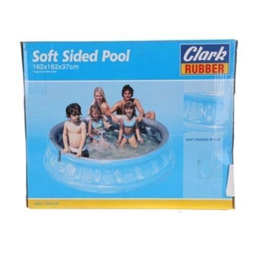 CLARK RUBBER Soft Sided Pool 162x162x37cm CR2495