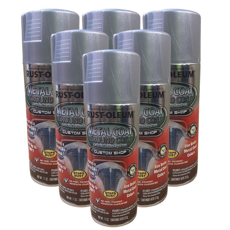 Rustoleum Rust-Oleum Metal Coat Ground Coat - 6 Cans