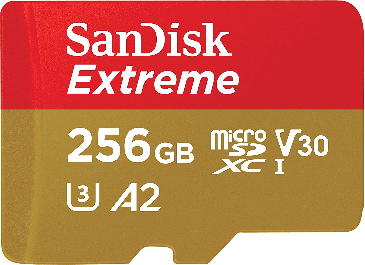 SanDisk Extreme 256GB Micro SD Card SDXC UHS-I Action Camera GoPro Memory Card 4K U3 160Mb/s A2