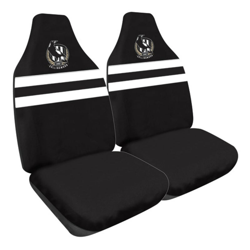 Collingwood Magpies Car Seat Covers