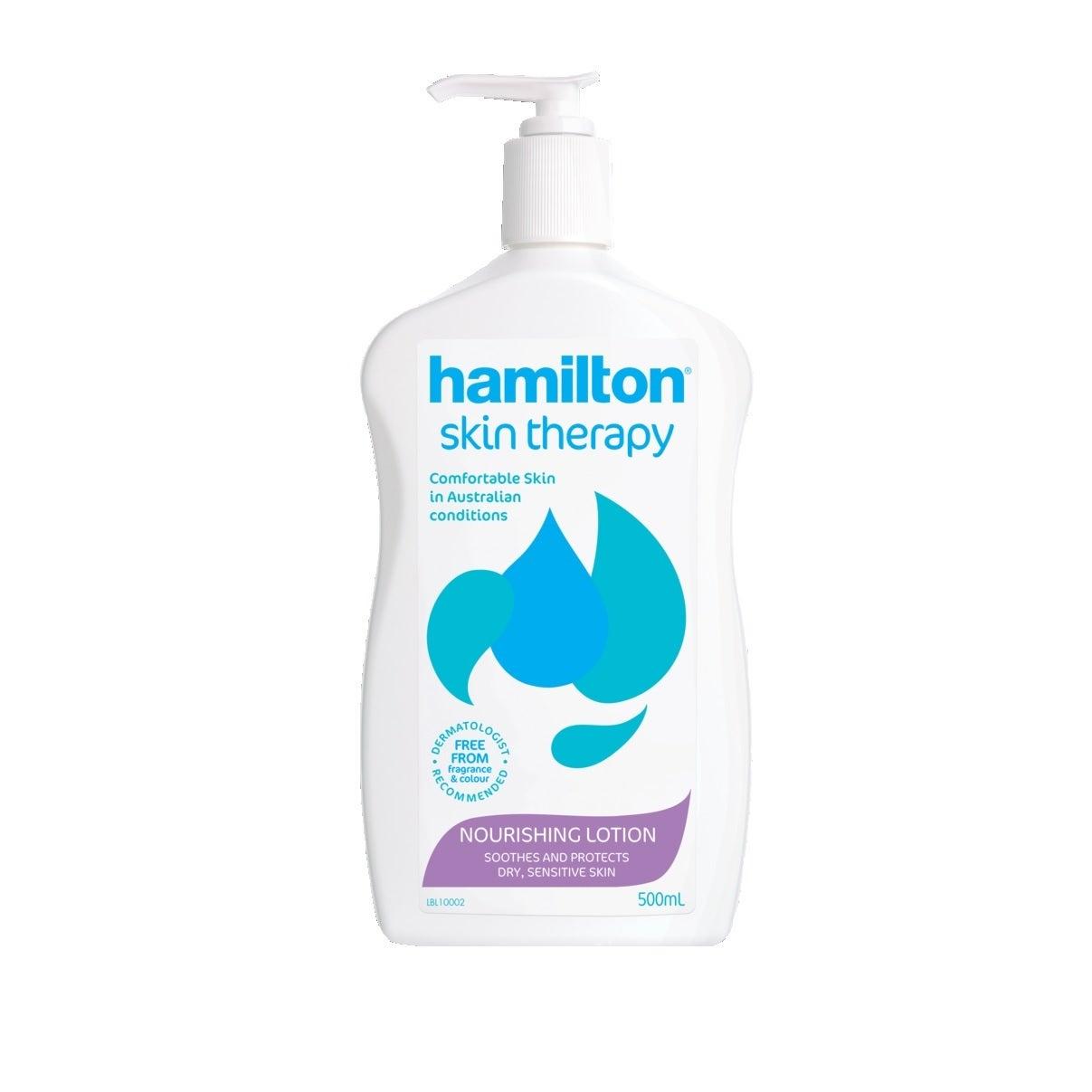 Hamilton Skin Therapy Nourishing Lotion 500mL