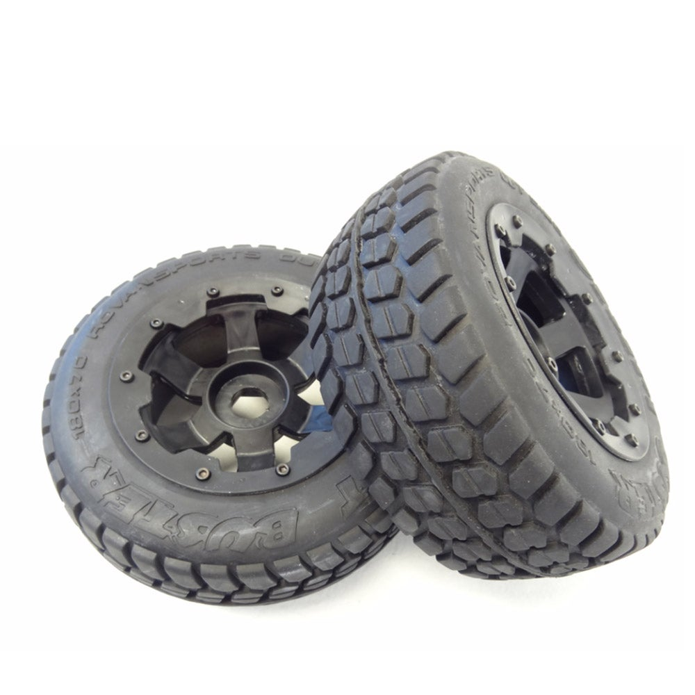 Rear Road Tyres black Rim Baja