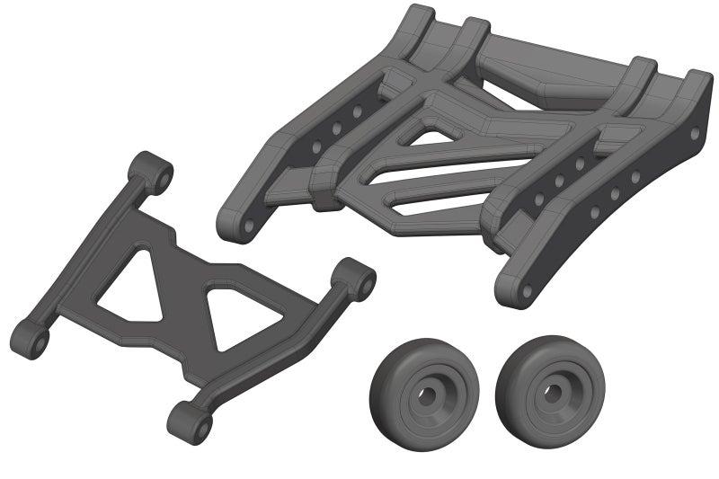 Team Corally - Wheelie Bar - Composite - 1 Set