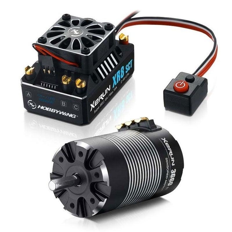 XR8 SCT B-Combo w/3660SD 3600KV motor