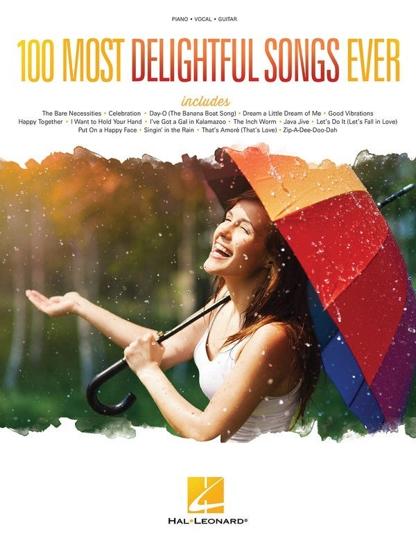 100 Most Delightful Songs Ever PVG (Softcover Book)