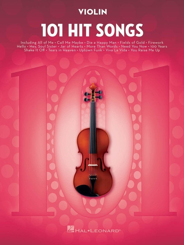 101 Hit Songs For Violin (Softcover Book)