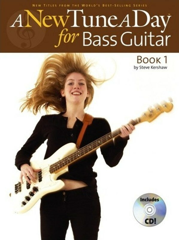 A New Tune A Day Bass Guitar Book 1 Softcover Book/CD