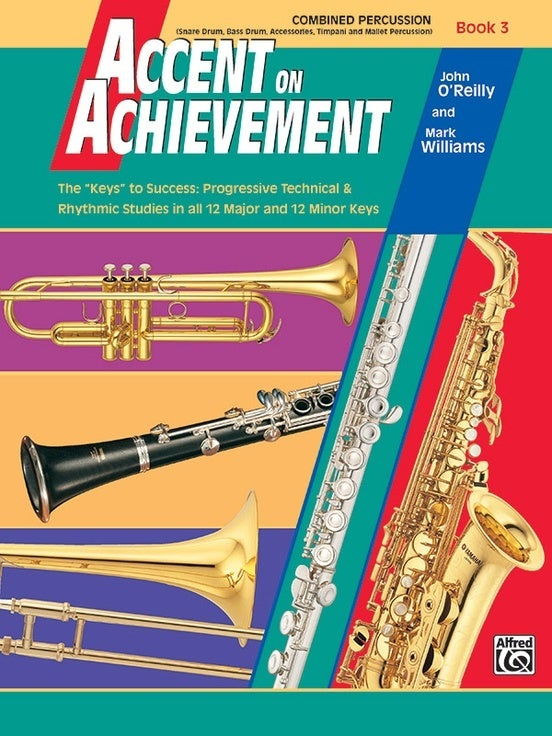 Accent On Achievement Book 3 Combined Percussion
