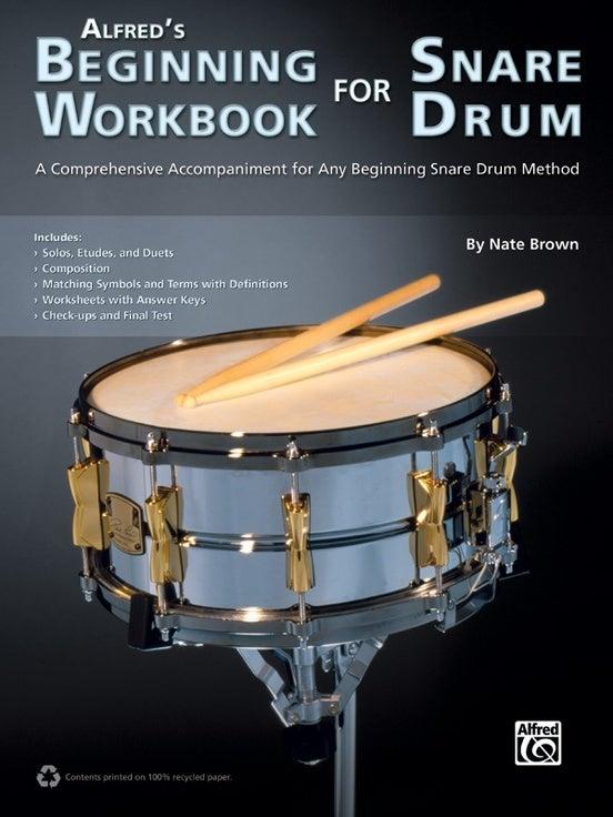 Alfreds Beginning Workbook For Snare Drum Book