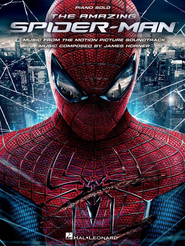 Amazing Spider Man Movie Selections Piano Solos (Softcover Book)