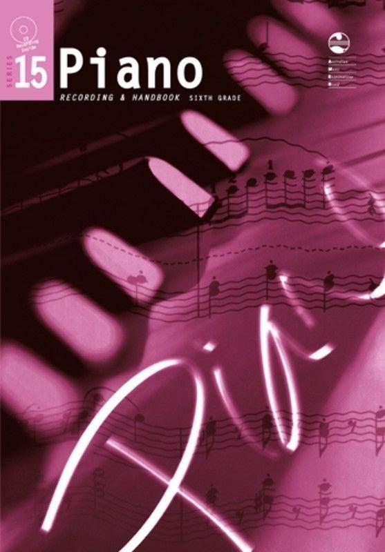 AMEB Piano Grade 6 Series 15 CD Handbook (Softcover Book/CD)