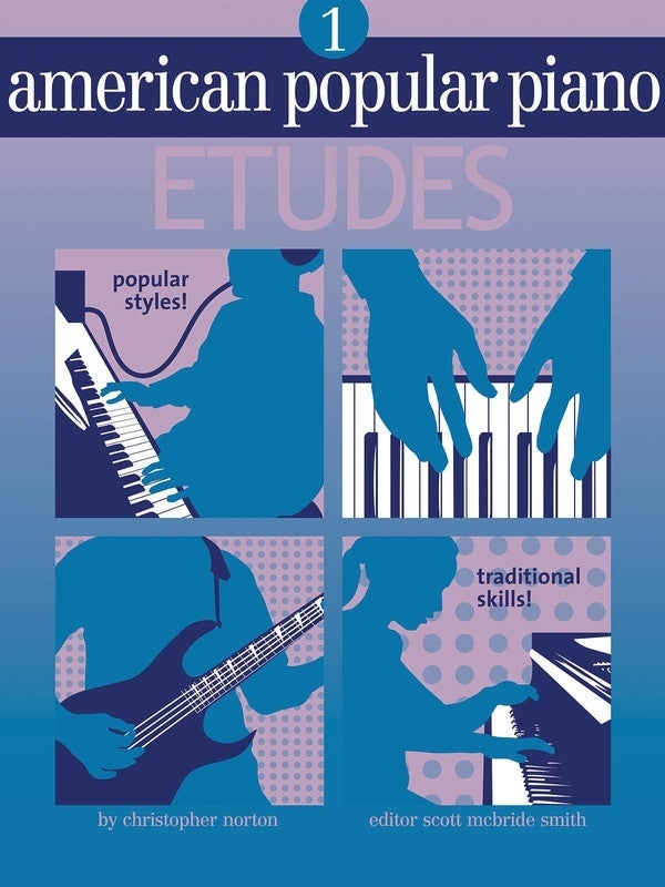 American Popular Piano Etudes Lvl 1 (Softcover Book)