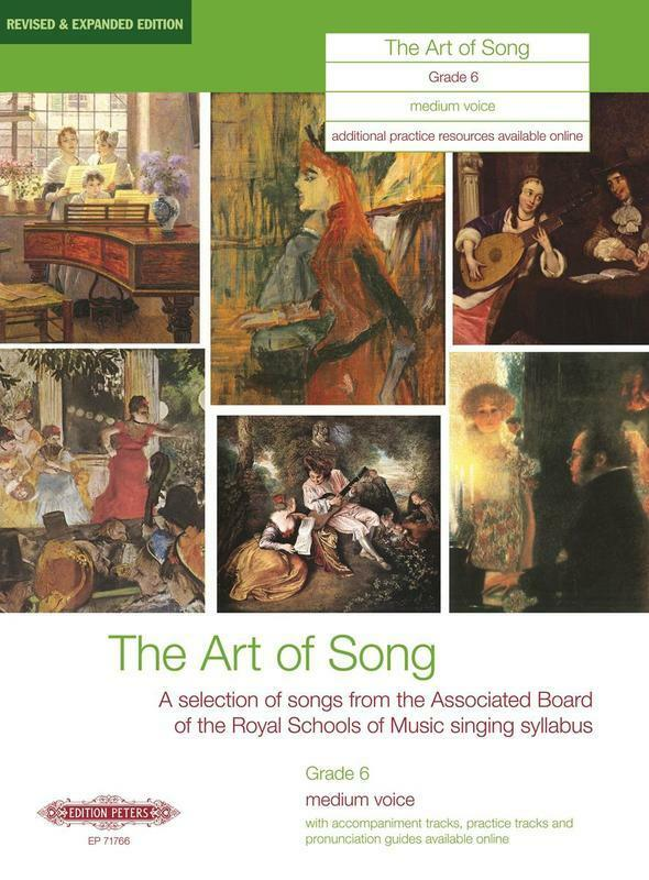 Art Of Song Gr 6 Medium Revised Edition (Softcover Book)