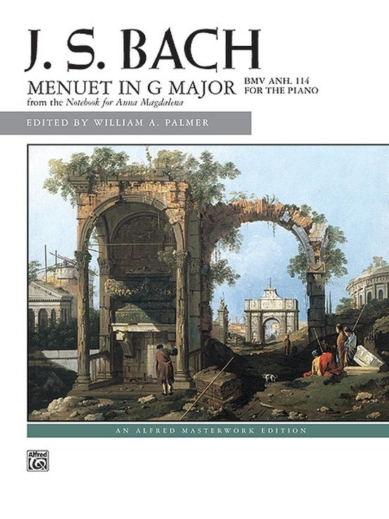 Bach Menuet In G Major BWV Anh 114