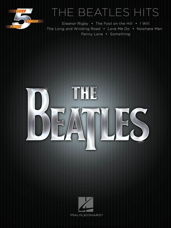 Beatles Hits 5 Finger Piano (Softcover Book)