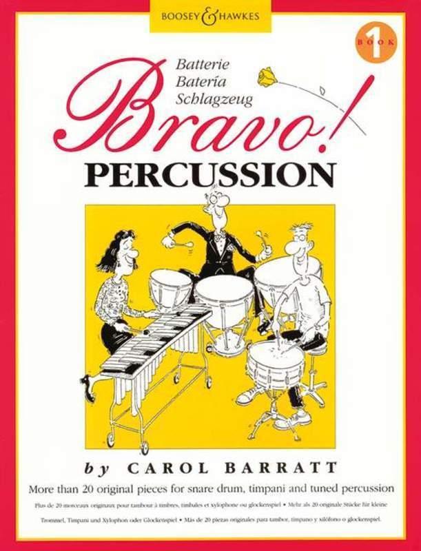 Bravo! Percussion Book 1 (Softcover Book)