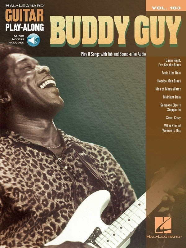 Buddy Guy Guitar Playalong V183 Book/Online Audio (Softcover Book/Online Audio)