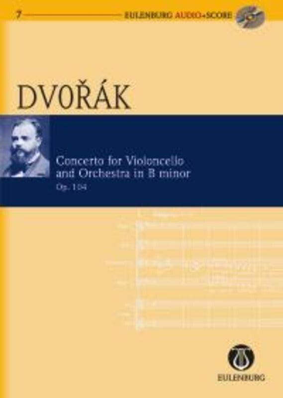 Cello Concerto B Min Op 104 Book/CD (Book/CD) Book