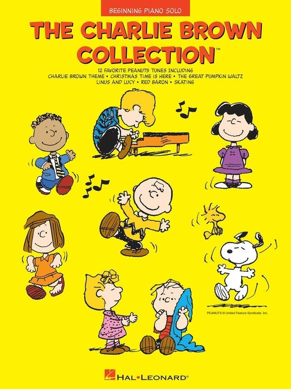 Charlie Brown Collection Beginning Piano Solo (Softcover Book)