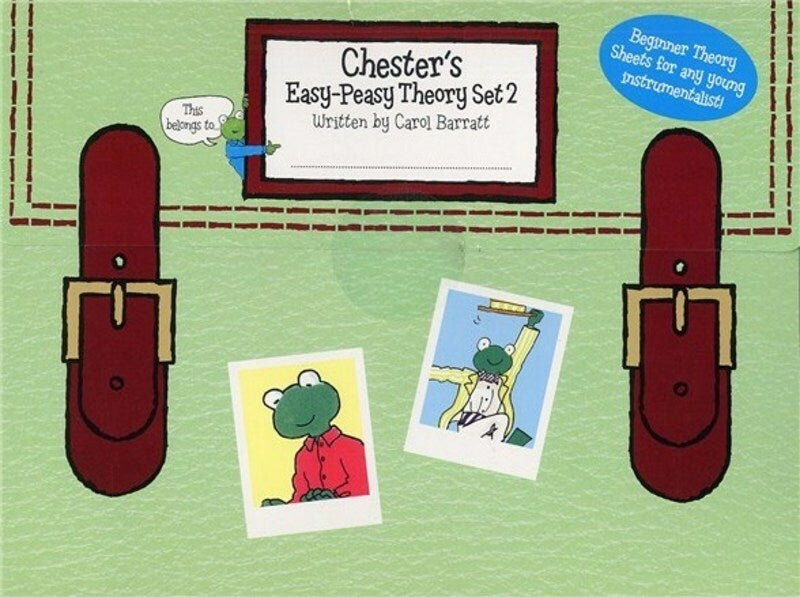 Chesters Easy-Peasy Theory Set 2 (Softcover Book)