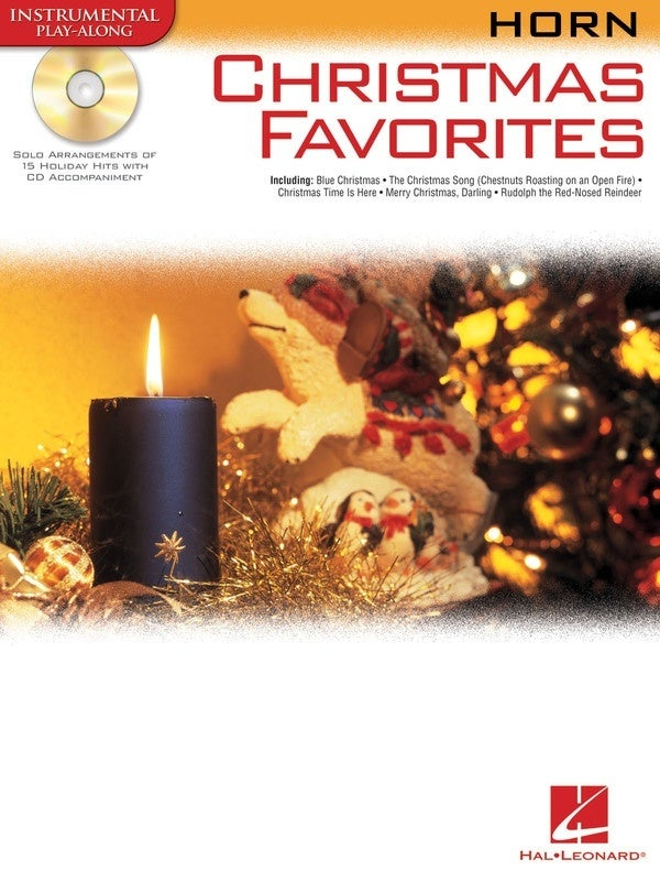 Christmas Favorites For Horn Book/CD (Softcover Book/CD)