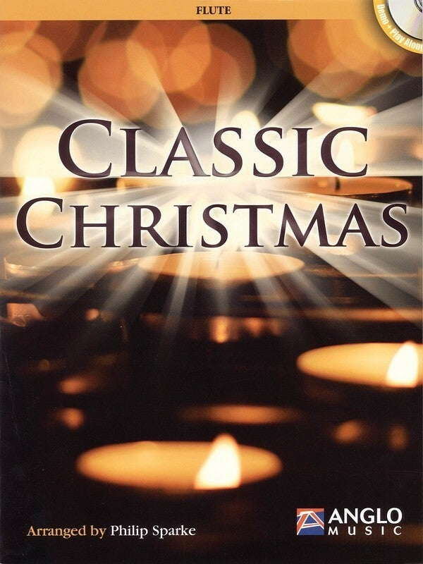 Classic Christmas Book/CD Flute (Softcover Book/CD)