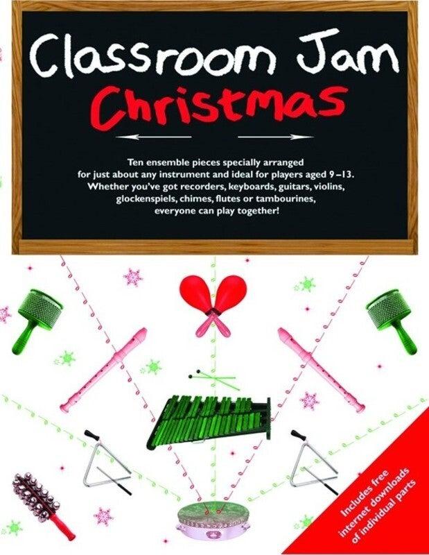 Classroom Jam Christmas (Music Score/Parts) Book