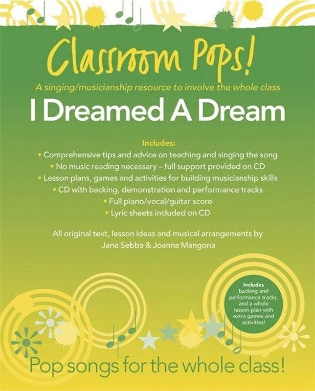 Classroom Pops I Dreamed A Dream Book/CD