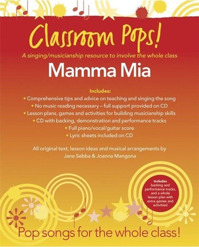 Classroom Pops Mamma Mia Book/CD