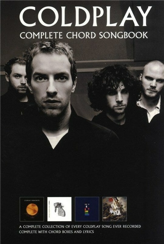 Coldplay - Complete Chord Songbook (Softcover Book)