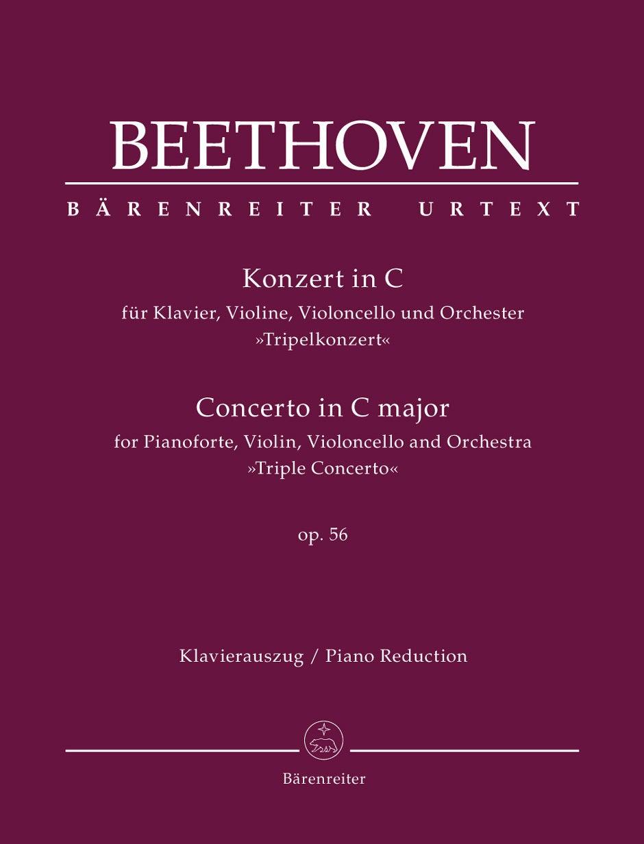 """Concerto For Pianoforte, Violin, Violoncello And Orchestra In C Major Op. 56 """"Triple Concerto"""""""