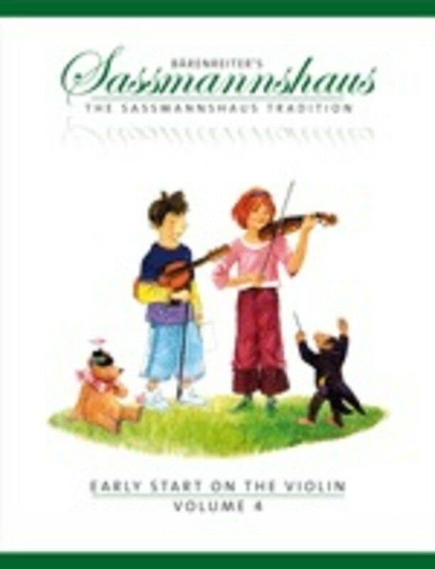 Early Start On The Violin Book 4 (Softcover Book) Book