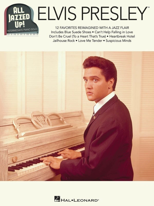Elvis Presley - All Jazzed Up! Piano Solo (Softcover Book)