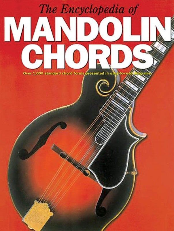 Encyclopedia Of Mandolin Chords (Softcover Book)