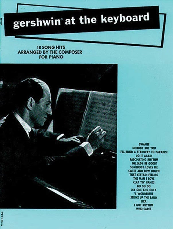Gershwin At The Keyboard (Softcover Book)