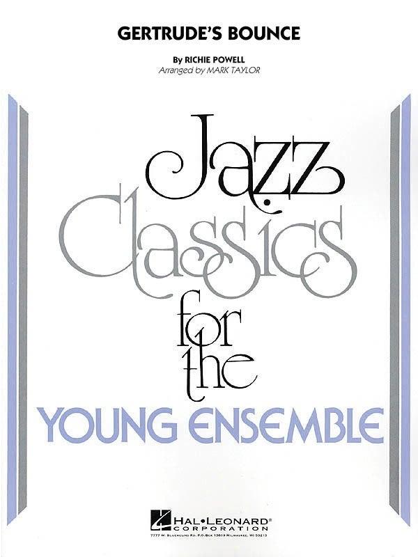 Gertrudes Bounce Junior Ensemble 3 (Music Score/Parts)