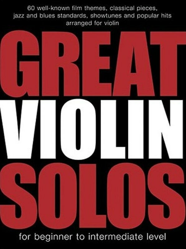 Great Violin Solos (Softcover Book)